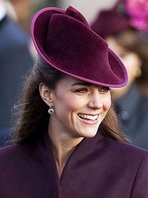 Prince William, Kate Middleton Christmas Earrings