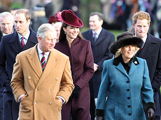 William & Kate Greet Well-Wishers on Walk from Church | Kate Middleton, Prince William
