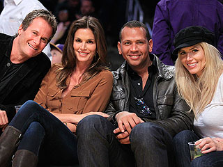 Alex Rodriguez & Torrie Wilson Smooch at Lakers Game| Couples, Alex Rodriguez, Torrie Wilson, Actor Class, RolesClass