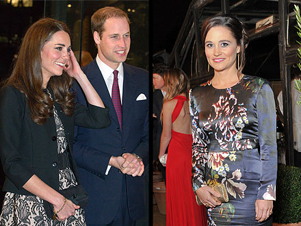 New Years: The Royals Ring in 2012
