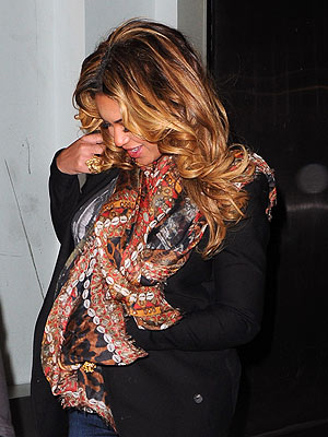 Beyonc&#233; Steps Out In N.Y.C.| Babies, Beyonce Knowles, Jay-Z