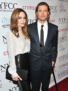 How Brad and Angelina Relax with the Kids During Awards Season | Angelina Jolie, Brad Pitt