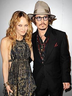 Johnny Depp Denies Split with Vanessa Paradis | Johnny Depp, Vanessa Paradis