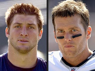 Tim Tebow Vs. Tom Brady: Who's Hotter On and Off the Field? | Tim Tebow, Tom Brady