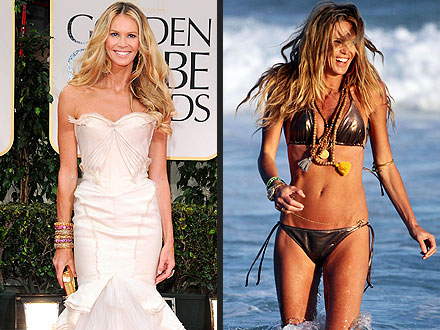 Golden Globes Red Carpet: Elle Macpherson on Staying Fit