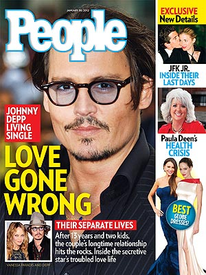 Johnny Depp & Vanessa Paradis Living 'Sad' Separate Lives