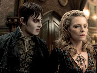 Johnny Depp Suits Up as a Vampire for Dark Shadows| Movie News, Johnny Depp, Robert Pattinson, Vanessa Paradis, Actor Class