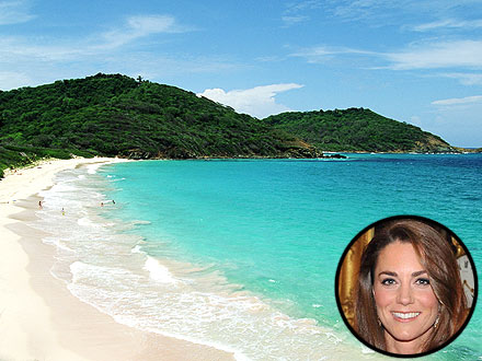 Kate Middleton Vacations in Mustique