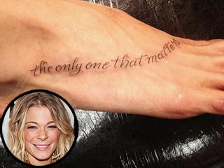 PHOTO: LeAnn Rimes's New Tattoo