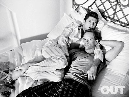 Neil Patrick Harris, David Burtka OUT Magazine