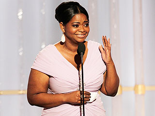 Octavia Spencer Can't Wait to Show Off Cleavage in Oscar Dress