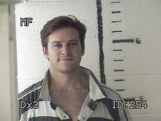 PHOTO: Armie Hammer Smiles Big for Mug Shot After Texas Pot Bust | Armie Hammer