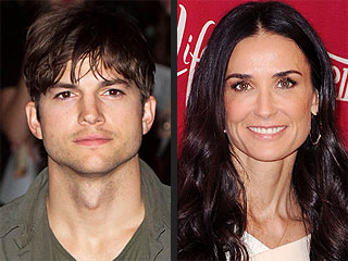 Ashton 'Deeply Concerned' About Demi: Source | Ashton Kutcher, Demi Moore