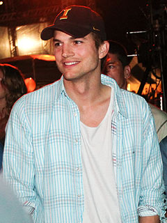Ashton Kutcher Parties with Supermodels in Brazil as Demi Seeks Treatment | Ashton Kutcher
