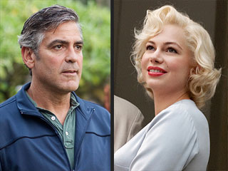 And the Oscar Nominations Go To ... | George Clooney, Michelle Williams