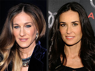 Sarah Jessica Parker Replaces Demi Moore in Lovelace | Demi Moore, Sarah Jessica Parker