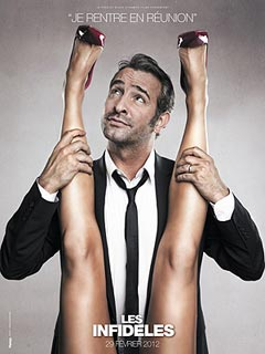 Are Jean Dujardin's New Movie Ads Too Sexy? | Jean Dujardin