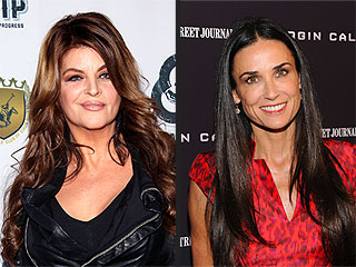 Kirstie Alley: Demi Moore Will 'Work It Out' | Demi Moore, Kirstie Alley