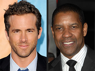 Ryan Reynolds Gave Denzel Washington His First Black Eye | Denzel Washington, Ryan Reynolds