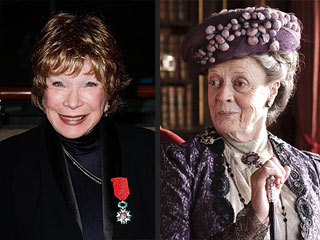 Shirley MacLaine to Face Off Against Maggie Smith in Downton Abbey Season 3 | Maggie Smith, Shirley MacLaine