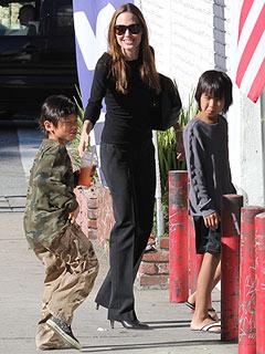 Angelina Jolie & The Kids Visit Legoland | Angelina Jolie