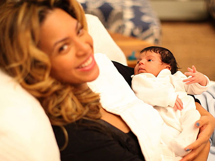 Blue Ivy Carter Photos: Beyonce and Jay-Z Release Baby Pictures