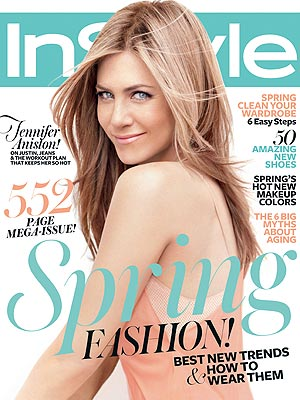 Jennifer Aniston Hair and Wardrobe Confessions