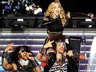Madonna Lights Up the Super Bowl | LMFAO, Madonna
