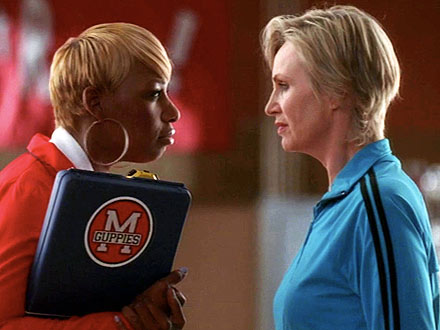 Glee: Watch Jane Lynch Get Served by NeNe Leakes