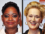 Meryl Streep, The Artist Take Home Top Honors at BAFTAs | Meryl Streep, Octavia Spencer