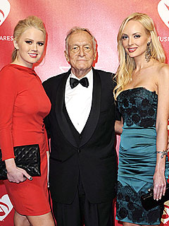 Hugh Hefner Has the Perfect Valentine's Day Gift for His Girlfriends | Hugh Hefner