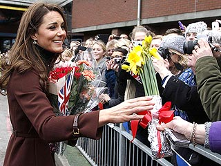 Kate Gets Flowers (and a Card) for Valentine's Day | Kate Middleton