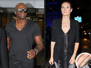 Heidi Klum Still Wears Wedding Ring, But Seal Takes His Off | Heidi Klum, Seal