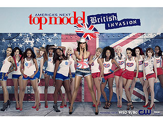 FIRST PHOTO: Contestants on Top Model: British Invasion | Tyra Banks