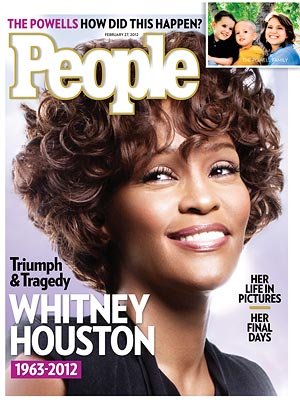 Whitney Houston Death; PEOPLE Cover Story : People.