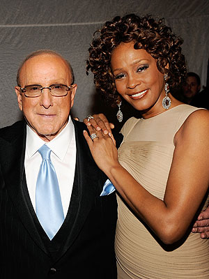 Whitney Houston Dies; Clive Davis Honors at Grammy Event