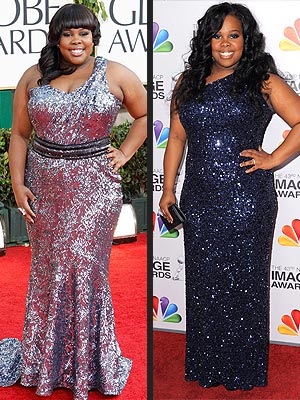 Amber Riley: I Dropped Two Dress Sizes
