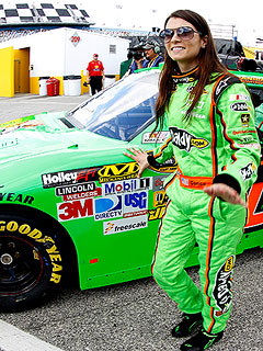 Danica Patrick Crashes in Daytona Debut