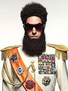 POLL: Should Sacha Baron Cohen Attend Oscars as the Dictator? | Sacha Baron Cohen