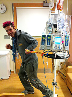 Ethan Zohn Undergoes Stem-Cell Transplant