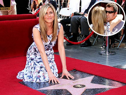 Jennifer Aniston Teased at Walk of Fame Event – by Adam Sandler