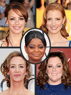 POLL: Who Should Win the Best Supporting Actress Oscar? | Berenice Bejo, Janet McTeer, Jessica Chastain, Octavia Spencer