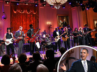 Obama Sings Again &#8211; This Time with Mick Jagger and B.B. King | B.B. King, Barack Obama, Mick Jagger