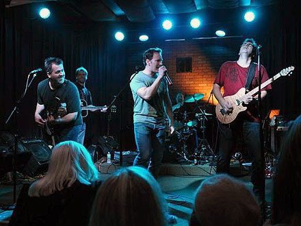 Patrick Wilson Fronts Van Halen Cover Band