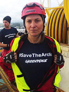 Lucy Lawless Arrested After 77 Hours Aboard Oil-Drilling Ship | Lucy Lawless