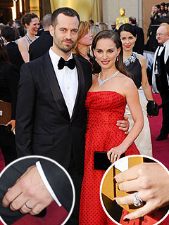 Were Natalie Portman, Fianc&#233; Wearing Wedding Rings at the Oscars? | Natalie Portman