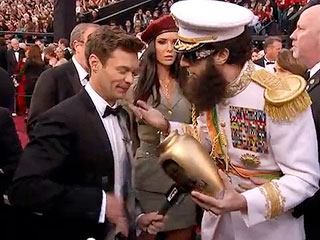 Ryan Seacrest: I Didn&#39;t Know What Sacha Baron Cohen Had Planned