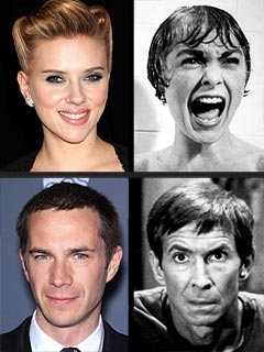 Scarlett Johansson Is Stepping into the Psycho Shower | Anthony Perkins, James D&#39;Arcy, Janet Leigh, Scarlett Johansson