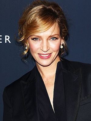Uma Thurman Pregnant