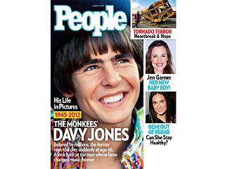 Davy Jones Remembered as a Gentle Hero in Private Funeral   Davy Jones